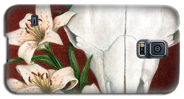 Galaxy S5 Case featuring the painting Buffalo Lilies by Pat Erickson