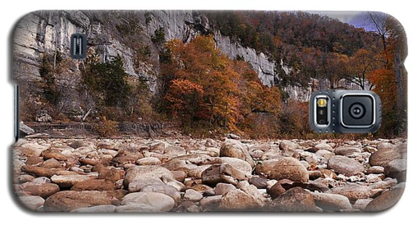 Galaxy S5 Case featuring the photograph Buffalo River by Renee Hardison