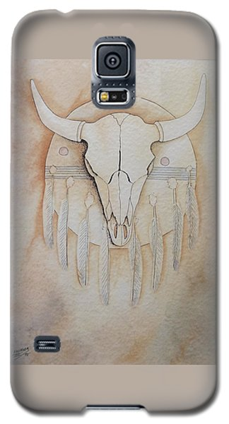 Buffalo Shield Galaxy S5 Case by Richard Faulkner
