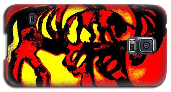 Buffalo Sun Set Galaxy S5 Case by Larry Campbell