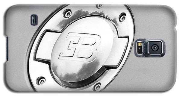 Galaxy S5 Case featuring the photograph Bugatti Fuel Cap by Matt Malloy