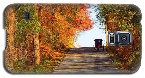 Buggy On A Lonely Road In The Fall Galaxy S5 Case