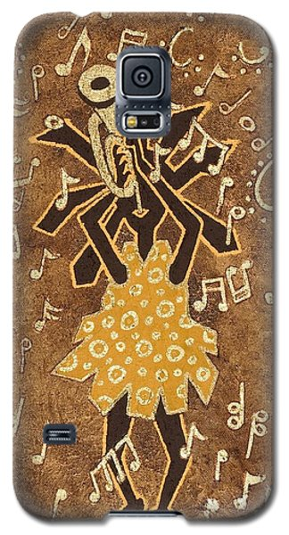 Bugle Player Galaxy S5 Case by Katherine Young-Beck