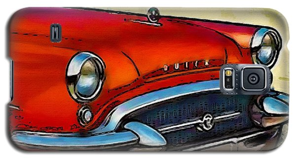 Galaxy S5 Case featuring the painting Buick Automobile by Robert Smith