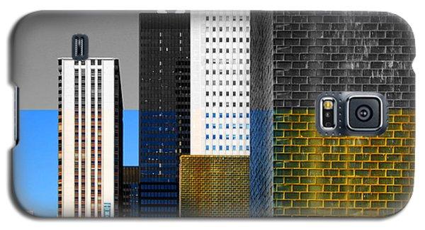 Building Blocks Cityscape Galaxy S5 Case
