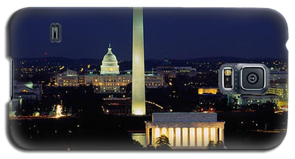 Buildings Lit Up At Night, Washington Galaxy S5 Case