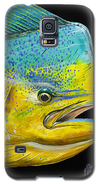 Bull Head Off0033 Galaxy S5 Case by Carey Chen