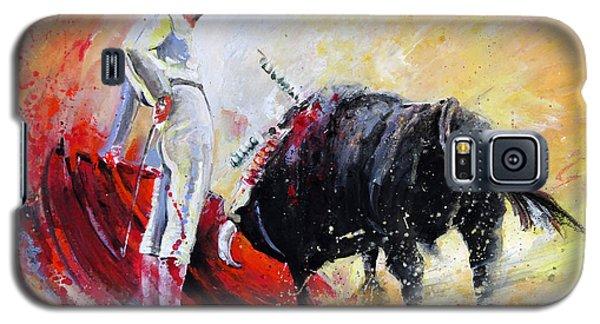 Bull In Yellow Light Galaxy S5 Case