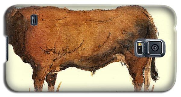 Bull Galaxy S5 Case - Bull by Juan  Bosco