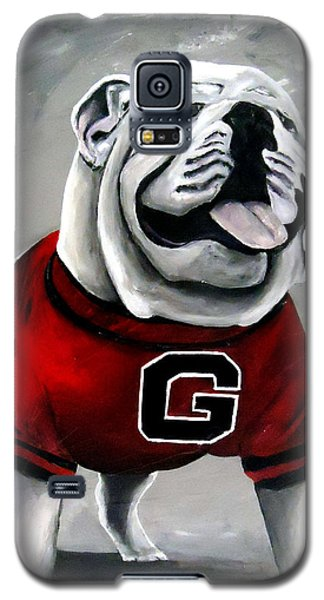 Florida State Galaxy S5 Case - Uga Bullog Damn Good Dawg by Katie Phillips