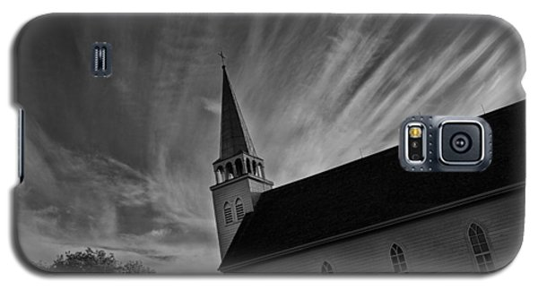 Galaxy S5 Case featuring the photograph Bullet Riddled Church by Ryan Crouse