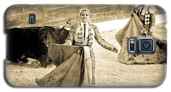 Bullfighting Blond Galaxy S5 Case