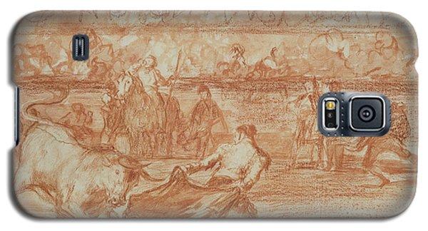 Sport Art Galaxy S5 Case - Bullfighting by Goya