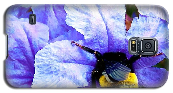 Galaxy S5 Case featuring the photograph Bumblebee Brunch by Dee Dee  Whittle