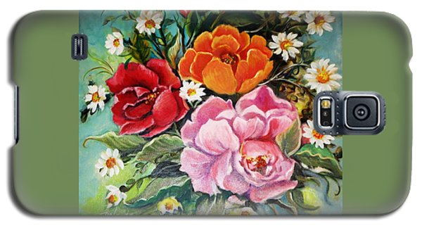 Bunch Of Flowers Galaxy S5 Case