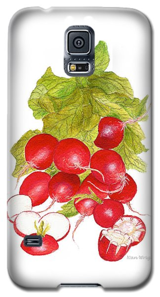 Bunch Of Radishes Galaxy S5 Case by Nan Wright