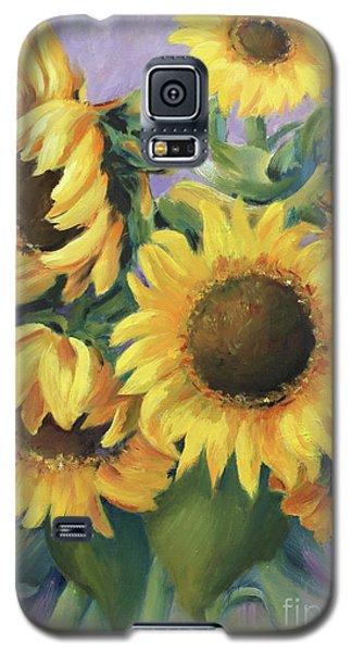 Bunch Of Sunflowers Galaxy S5 Case by Marta Styk