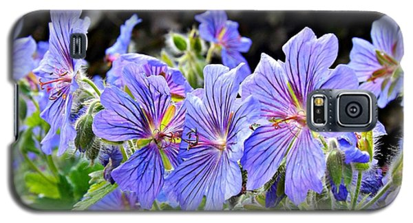 Galaxy S5 Case featuring the photograph Bunches by Clare Bevan