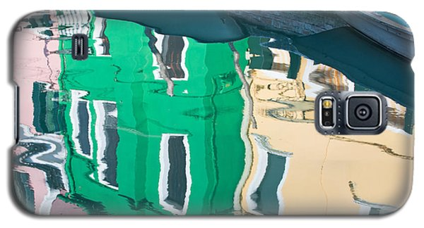 Burano Reflected Galaxy S5 Case by Joan Herwig