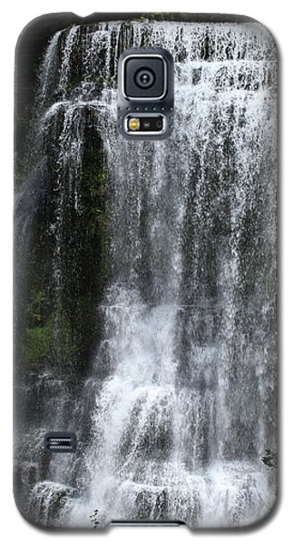 Galaxy S5 Case featuring the photograph Burgess Falls by Harold Rau