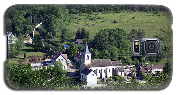 Burgundy Village Galaxy S5 Case