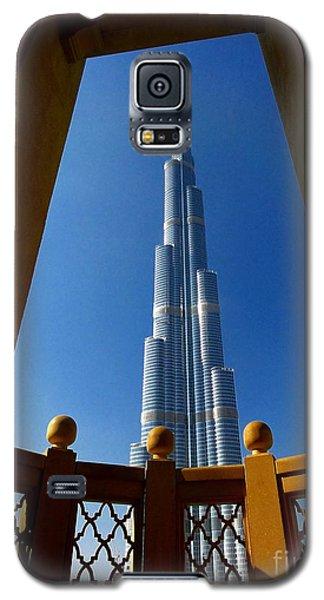 Galaxy S5 Case featuring the photograph Burj Khalifa by Henry Kowalski