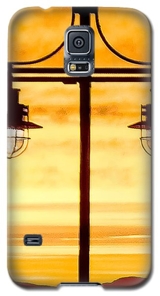 Burlington Dock Lights Galaxy S5 Case