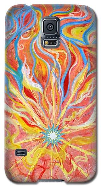 Burning Bush Galaxy S5 Case