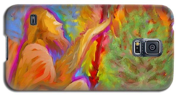 Burning Bush Of Yhwh Galaxy S5 Case