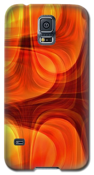 Galaxy S5 Case featuring the photograph Burning Cross by Martina  Rathgens