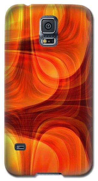 Burning Cross Galaxy S5 Case