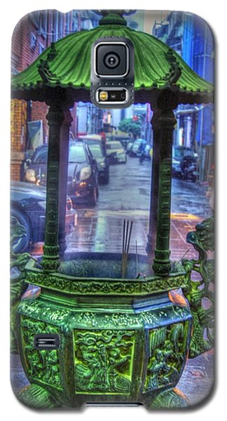 Burning Incense Galaxy S5 Case