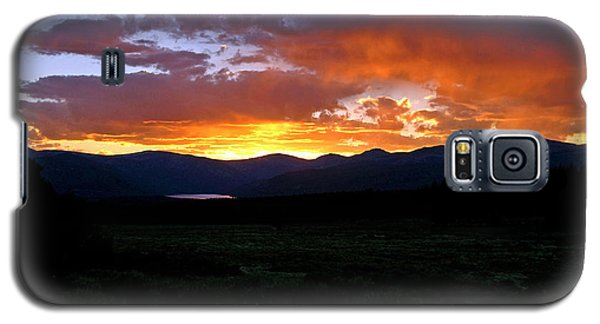 Galaxy S5 Case featuring the photograph Burning Of Uncertainty by Jeremy Rhoades
