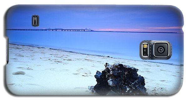 Galaxy S5 Case featuring the photograph Burnt Driftwood Sunset by Jennifer Casey