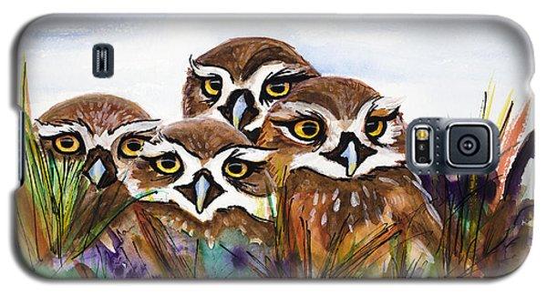 Burrowing Owls Galaxy S5 Case