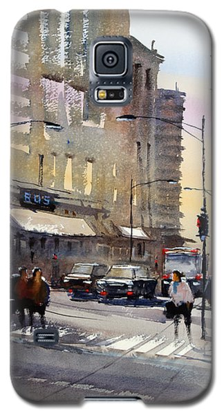 Bus Stop - Chicago Galaxy S5 Case