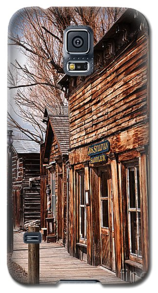 Galaxy S5 Case featuring the photograph Business Block by Sue Smith