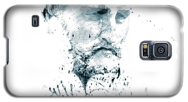 Galaxy S5 Case featuring the photograph Bust Of A Man by James Bethanis