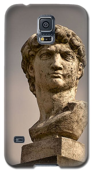 Galaxy S5 Case featuring the photograph Bust Of Apollo by Nadalyn Larsen