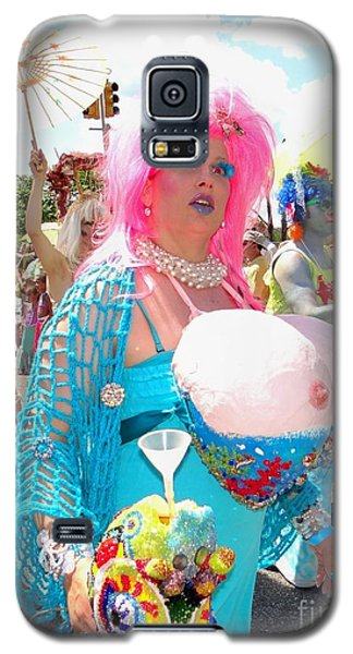 Galaxy S5 Case featuring the photograph Busty Mermaid by Ed Weidman