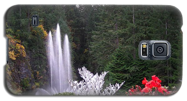 Butchart Gardens Fountain Galaxy S5 Case