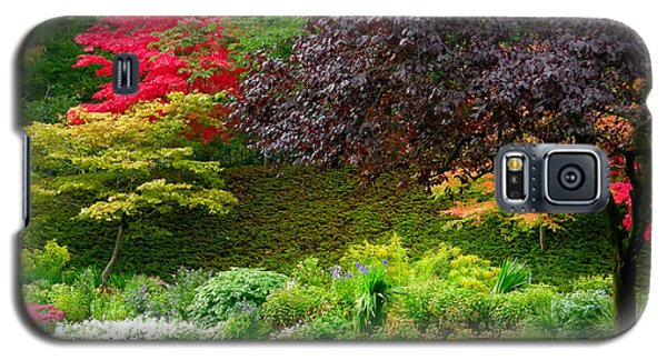 Butchart Gardens Lawn And Tree Galaxy S5 Case