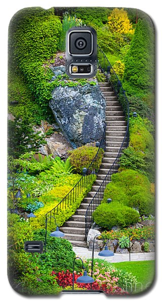Butchart Gardens Stairs Galaxy S5 Case