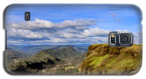 Butte Creek Canyon Overlook Galaxy S5 Case