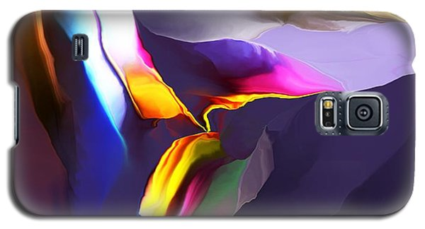 Galaxy S5 Case featuring the digital art Butte by David Lane