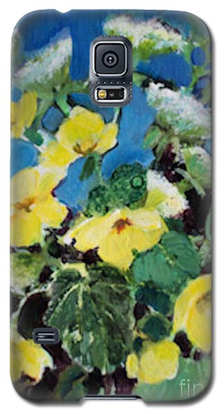 Buttercups And Queen Anne's Lace Galaxy S5 Case