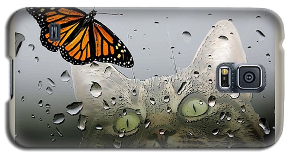Butterflies Are Free Galaxy S5 Case by I'ina Van Lawick