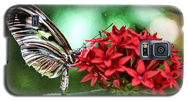 Galaxy S5 Case featuring the photograph Butterfly by Bill Howard