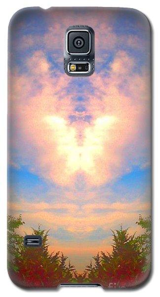 Butterfly Cloud Galaxy S5 Case by Karen Newell