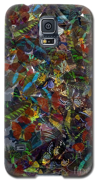 Galaxy S5 Case featuring the photograph Butterfly Collage by Robert Meanor